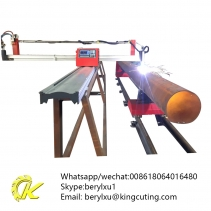 Factory directly supply kingcutting smart portable steel plate plasma cutting tube supplier