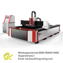 low cost automatic kingcutting steel fiber laser cutting factory china